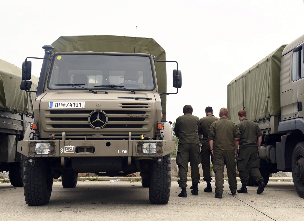 Soldados austríacos refuerzan el control migratorio cerca de la frontera italiana