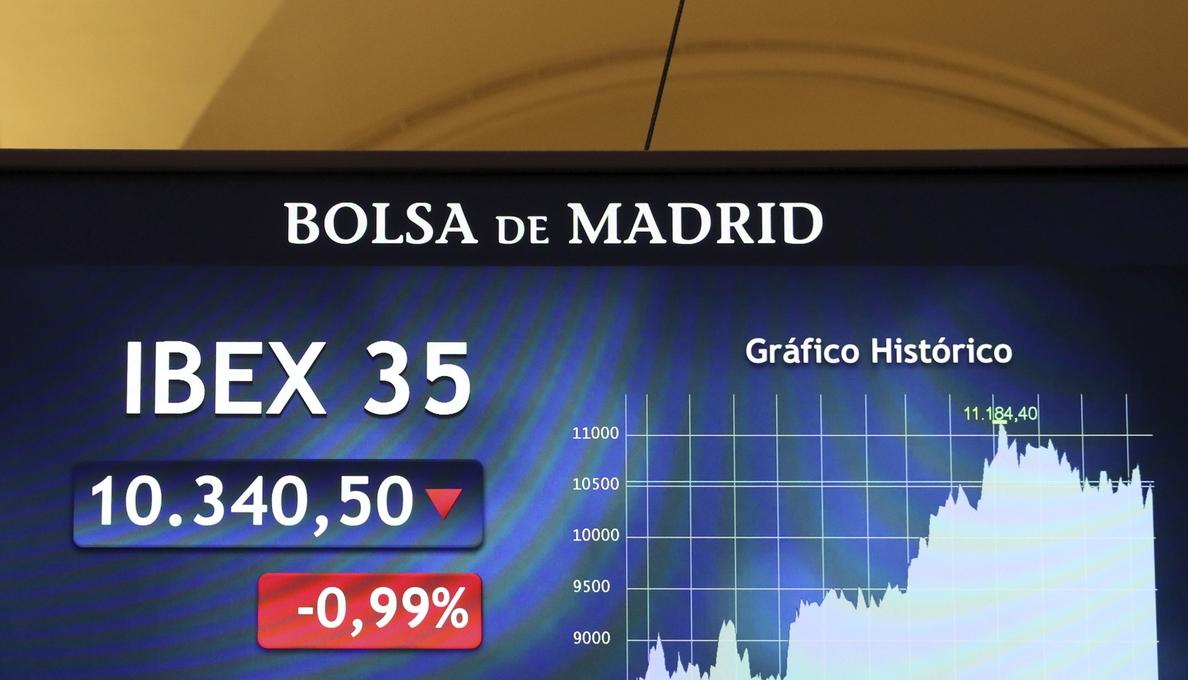 Los valores relacionados con el turismo lastran al IBEX 35, que cae un 1,11 %