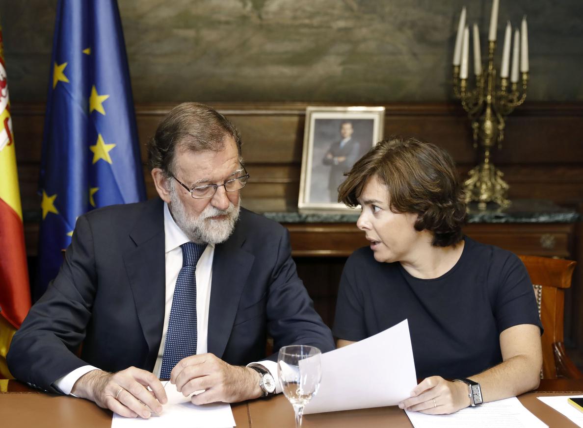 La vicepresidenta se reúne con Interior y las Fuerzas de Seguridad en Barcelona