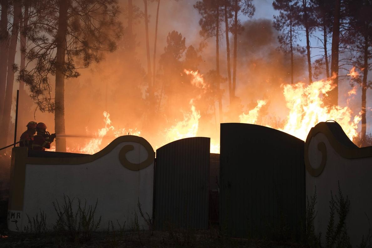 Portugal apela a la población para acabar con la oleada de incendios