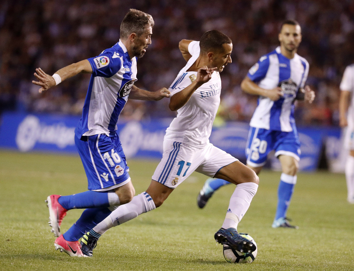 0-3. El Real Madrid golea al Deportivo, que tuvo una noche aciaga