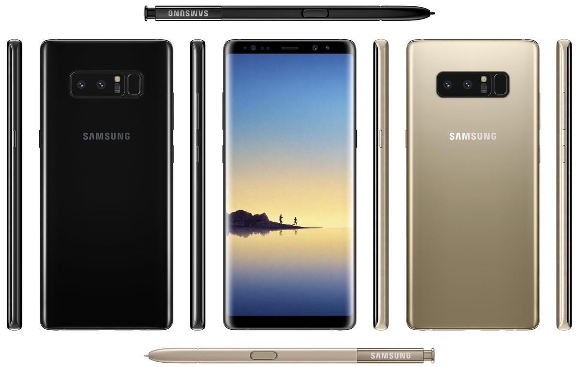 Samsung muestra las características de la cámara dual de Galaxy Note 8 y el lápiz S Pen
