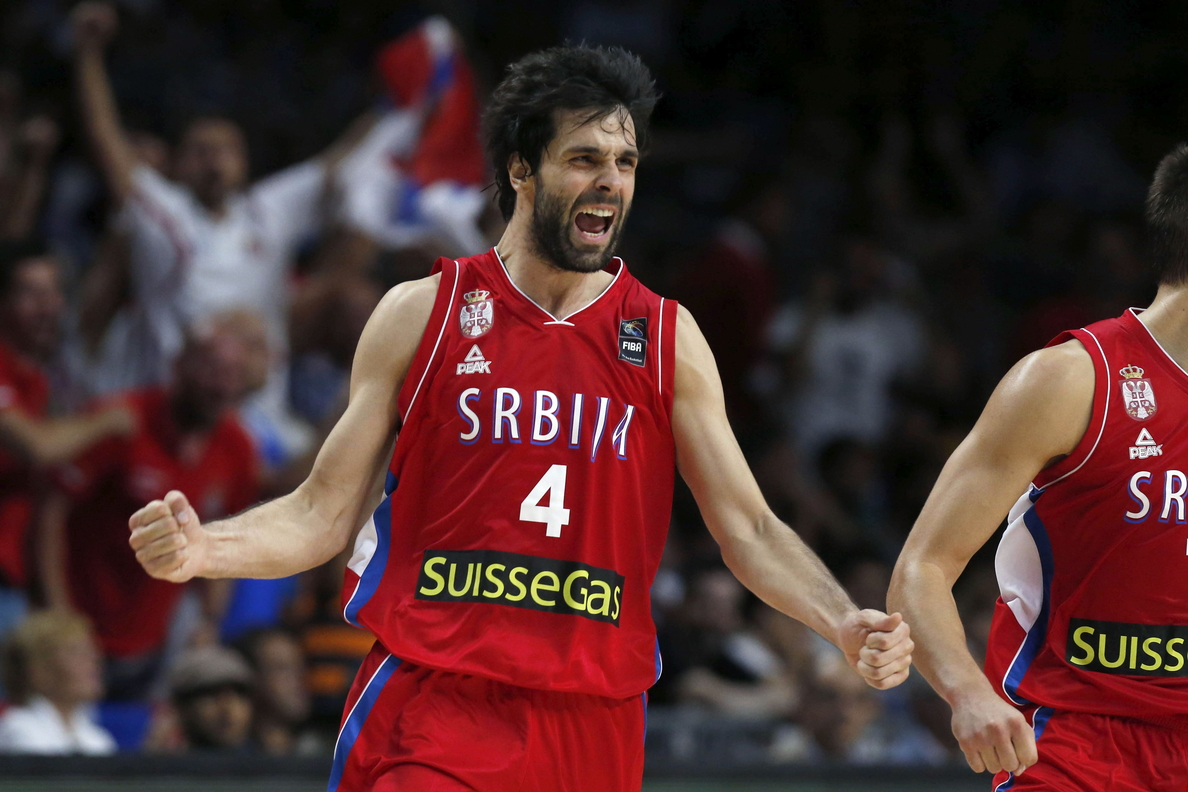 El base y capitán serbio Milos Teodosic se pierde el Eurobasket por lesión
