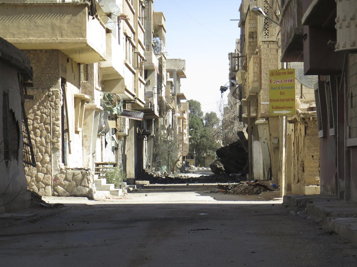 La aviación rusa acaba con 200 milicianos del Estado Islámico en Siria