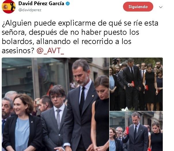 Alcalde de Alrcorcón acusa a Colau de «allanar el recorrido a los asesinos» al no poner bolardos en La Rambla