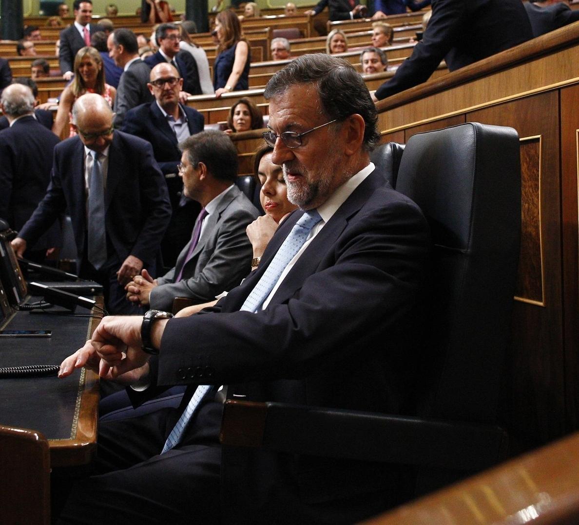 La Diputación Permanente del Congreso debatirá el jueves si llama a comparecer a Rajoy y ocho ministros