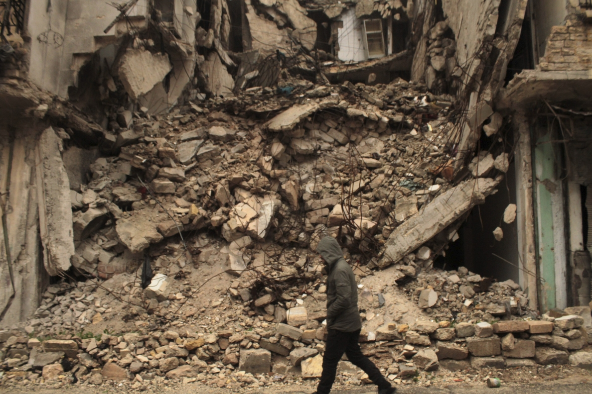Las fuerzas internacionales dejan 167 civiles muertos en Siria en 8 días
