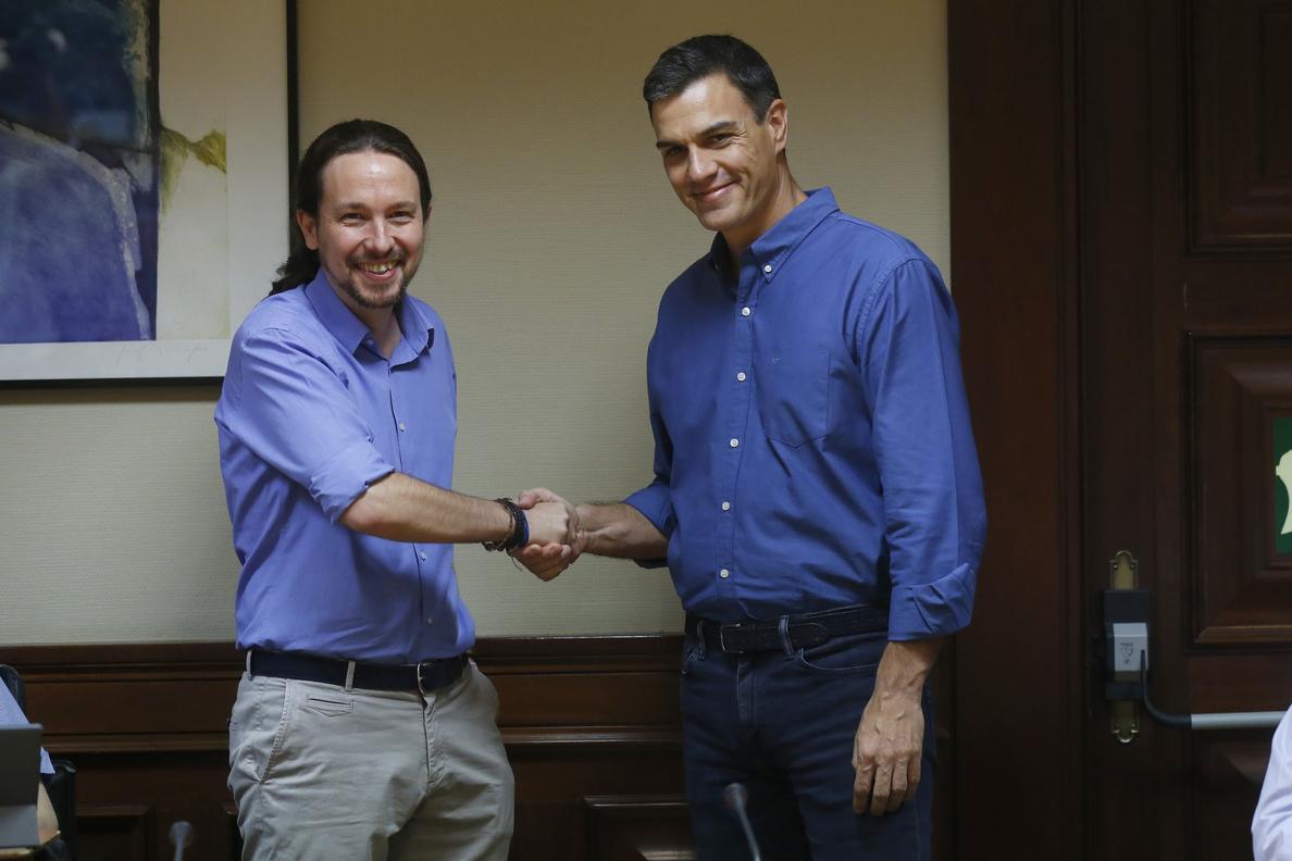 La nueva relación de PSOE y Podemos: tan cerca, tan lejos