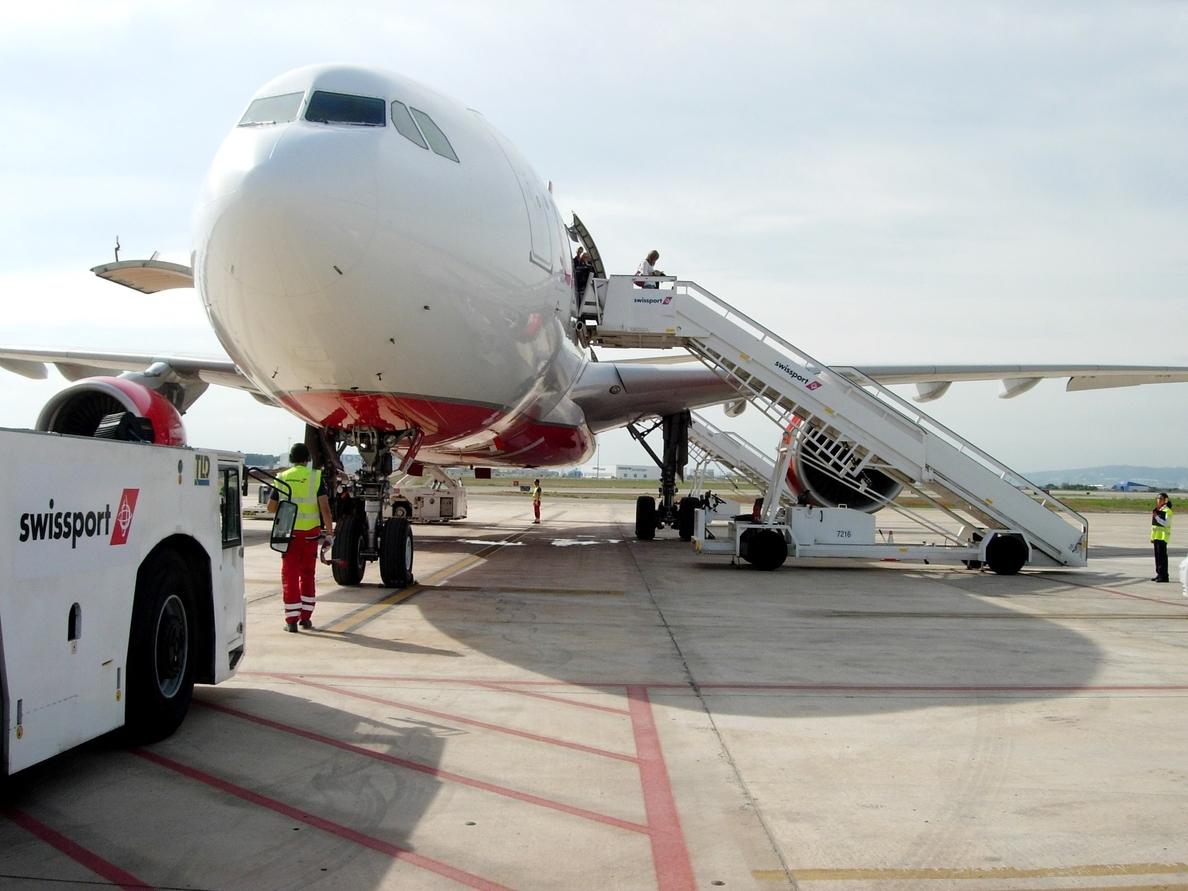 Los trabajadores de Swissport retoman su actividad en el aeropuerto de Bruselas