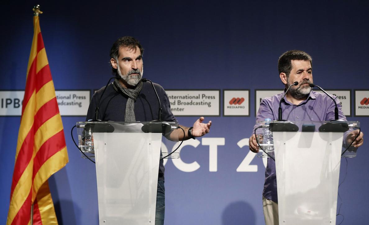 Amnistía Internacional se reúne con los Jordis y respalda los indultos