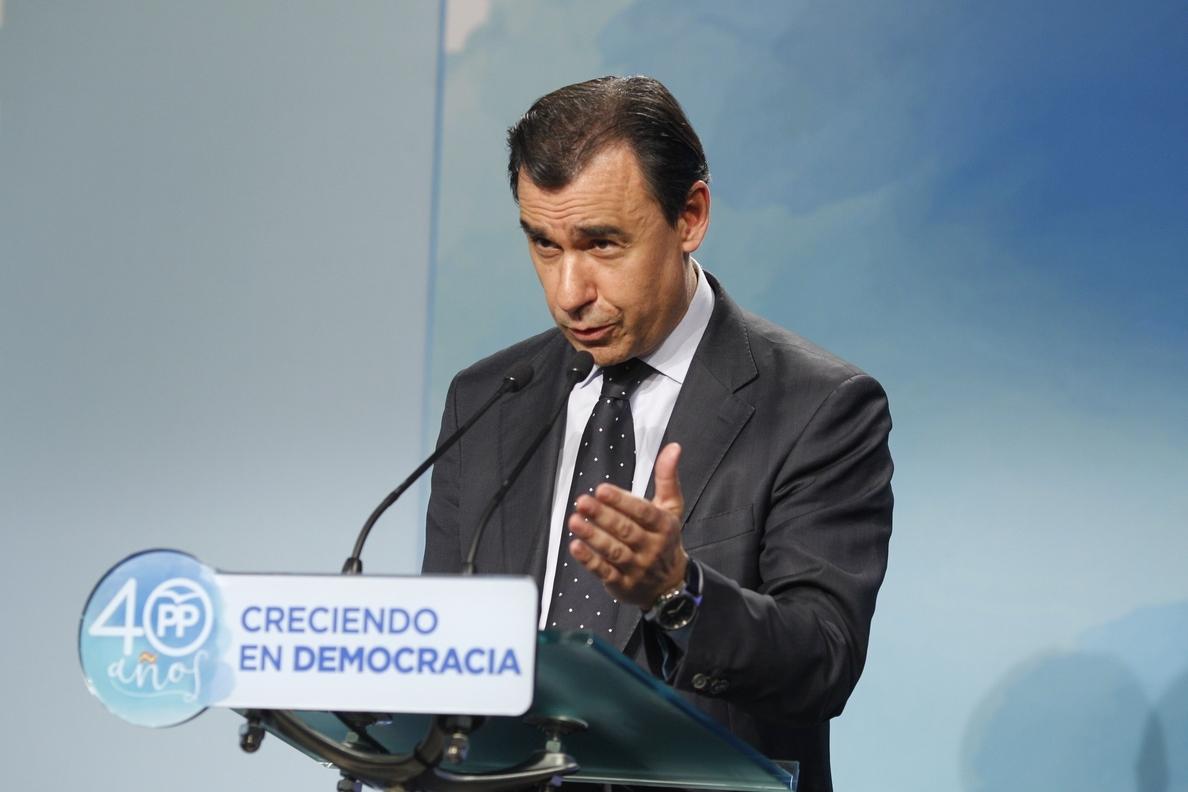 Maillo responde a Aznar que si estuvo ocho años fue porque quiso y que el PP es el mismo: «Sólo ha cambiado el logotipo»