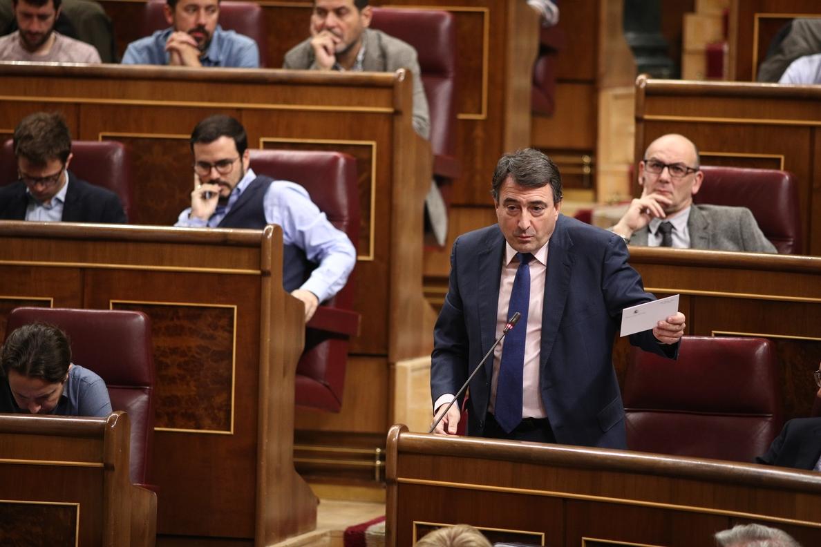 El PNV saluda la nueva comisión territorial del Congreso pero insiste en que «no es el momento»