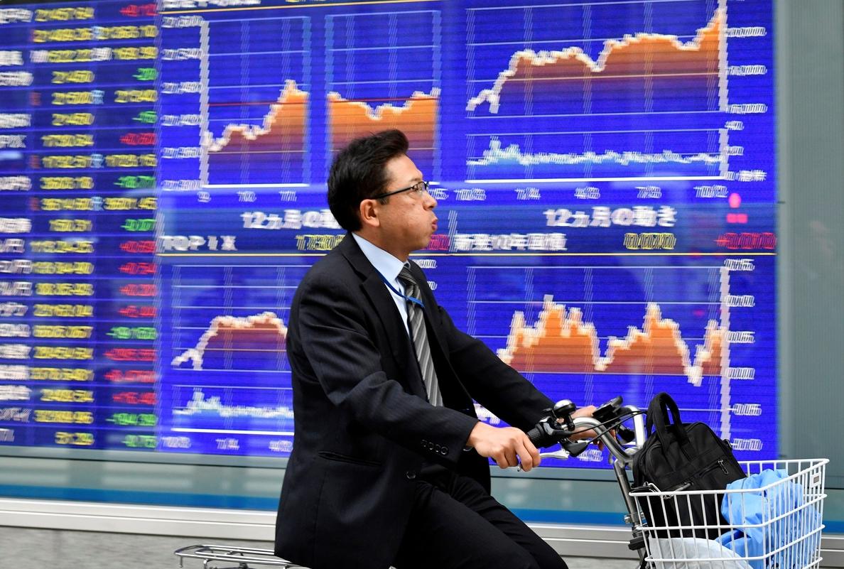 La Bolsa de Tokio cae un 0,16 % en la apertura hasta los 21.993,61 puntos