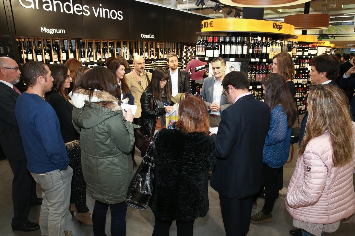 Carrefour impulsa su »e-commerce» con el lanzamiento de la mayor bodega »online» de España