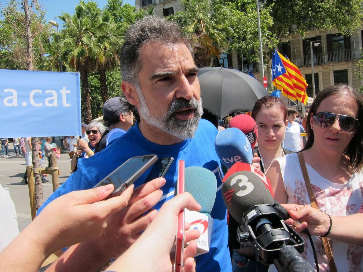 Cuixart (Òmnium) pide a los independentistas seguir contra el 155 y no caer en provocaciones: «Sé de lo que hablo»
