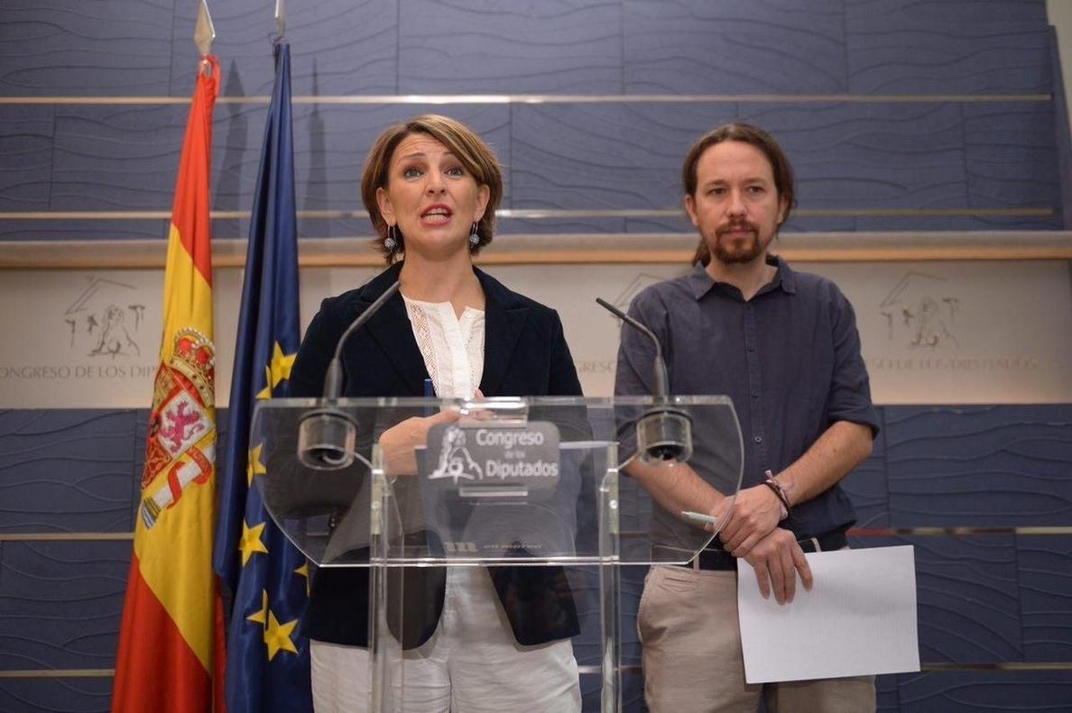 Unidos Podemos estudia llevar al Consejo de Europa y a Naciones Unidas los vetos del Gobierno a sus leyes