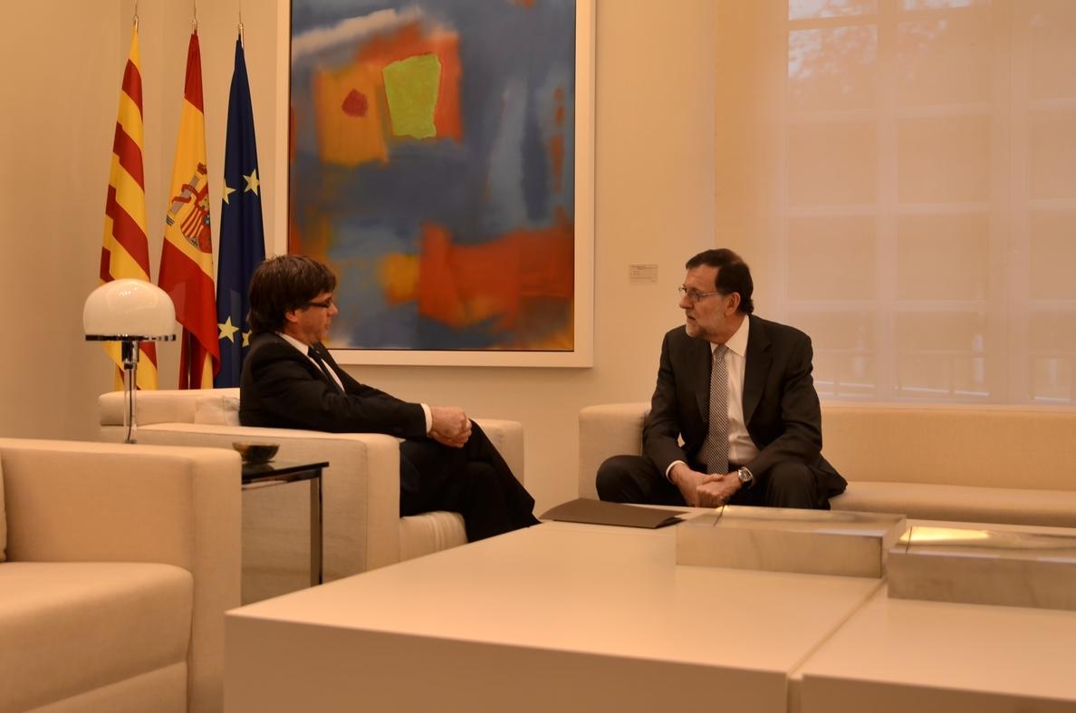 Puigdemont dice en »Russia Today» que pedirá a Rajoy y a la UE abrir una nueva etapa de diálogo si gana el 21-D