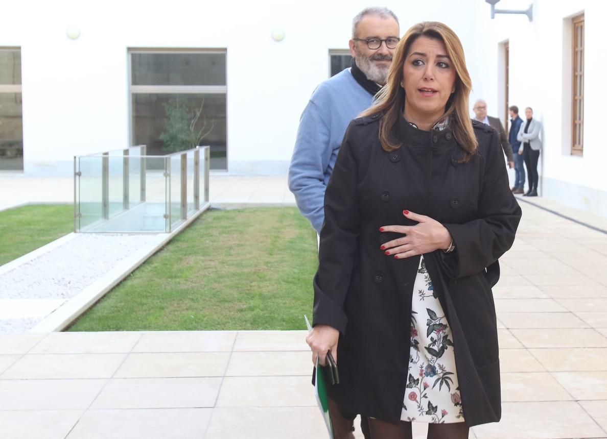 Susana Díaz pide a los partidos que no fomenten una imagen «catastrófica» de Andalucía que «alimenta tópicos»