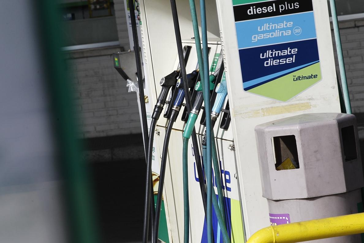 El precio del litro de gasóleo sube un 1,25% esta semana y toca sus máximos desde enero