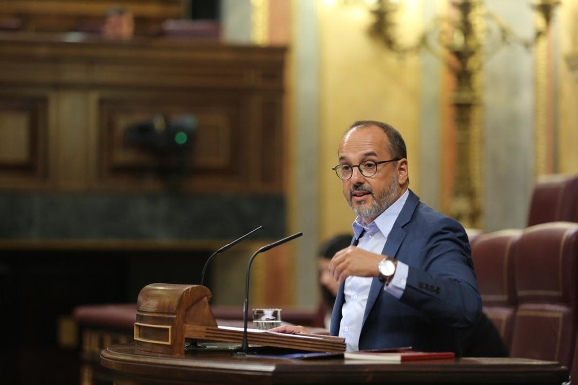 El PDeCAT quiere forzar este mes la primera votación en el Congreso sobre el 155 en Cataluña