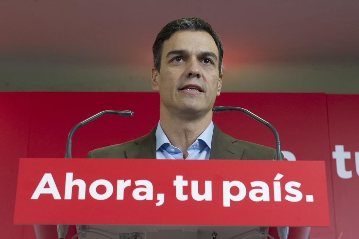 Pedro Sánchez pide a la justicia respeto y confianza para la víctima de »La Manada»