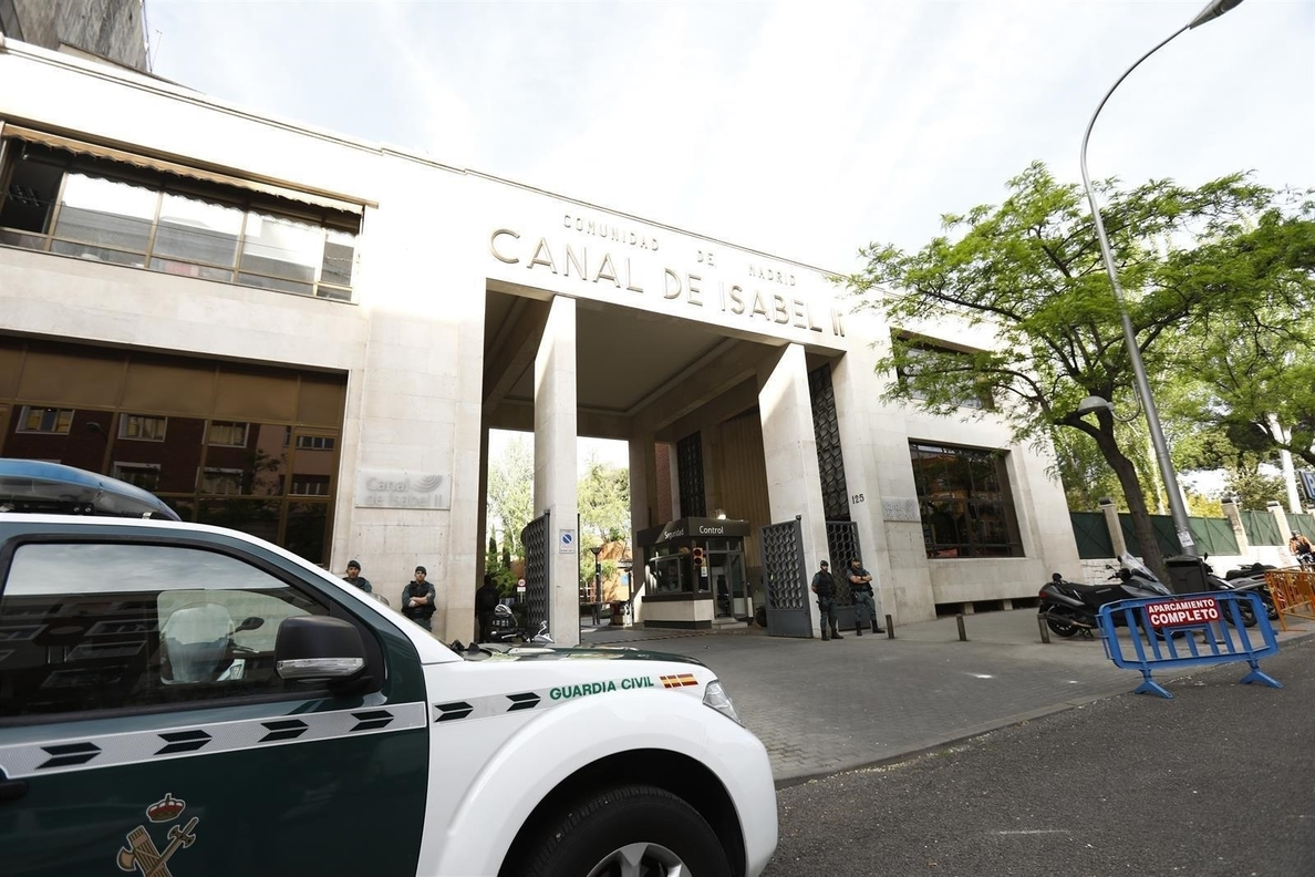Responsables de la compra de Inassa por parte del Canal de Isabel II declaran hoy en comisión de corrupción de Madrid