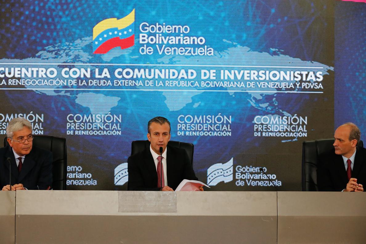 Una asociación de derivados financieros confirma el «default» de Venezuela y PDVSA