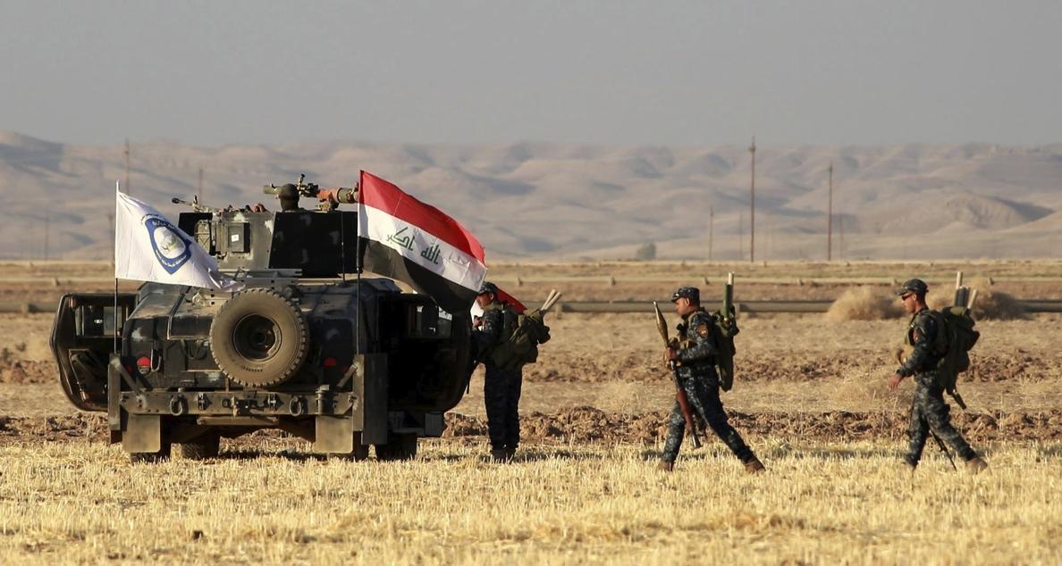 Las fuerzas iraquíes lanzan una ofensiva sobre la última localidad controlada por el Estado Islámico