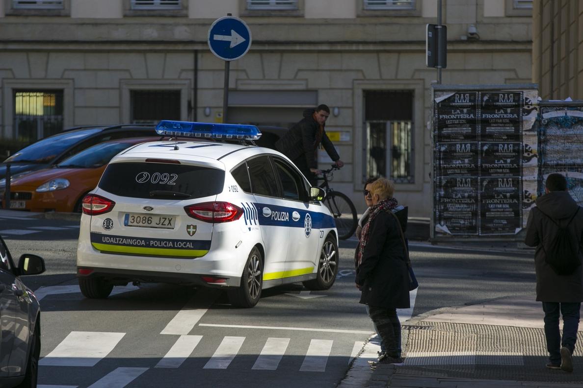 Vitoria cumple hoy 20 días con su Policía Local en huelga de celo