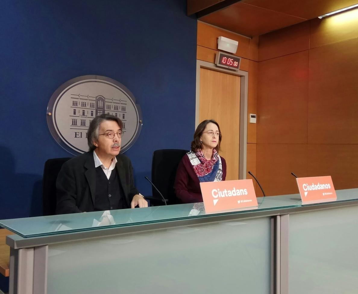 Cs enmienda a la totalidad a los presupuestos de Baleares porque se «malgasta» el dinero destinado a políticas sociales