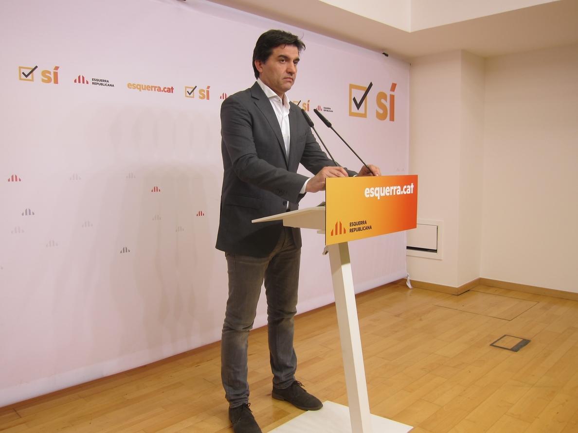 ERC alega que Rovira habló de «muertos» por comentarios públicos de Cospedal y Casado