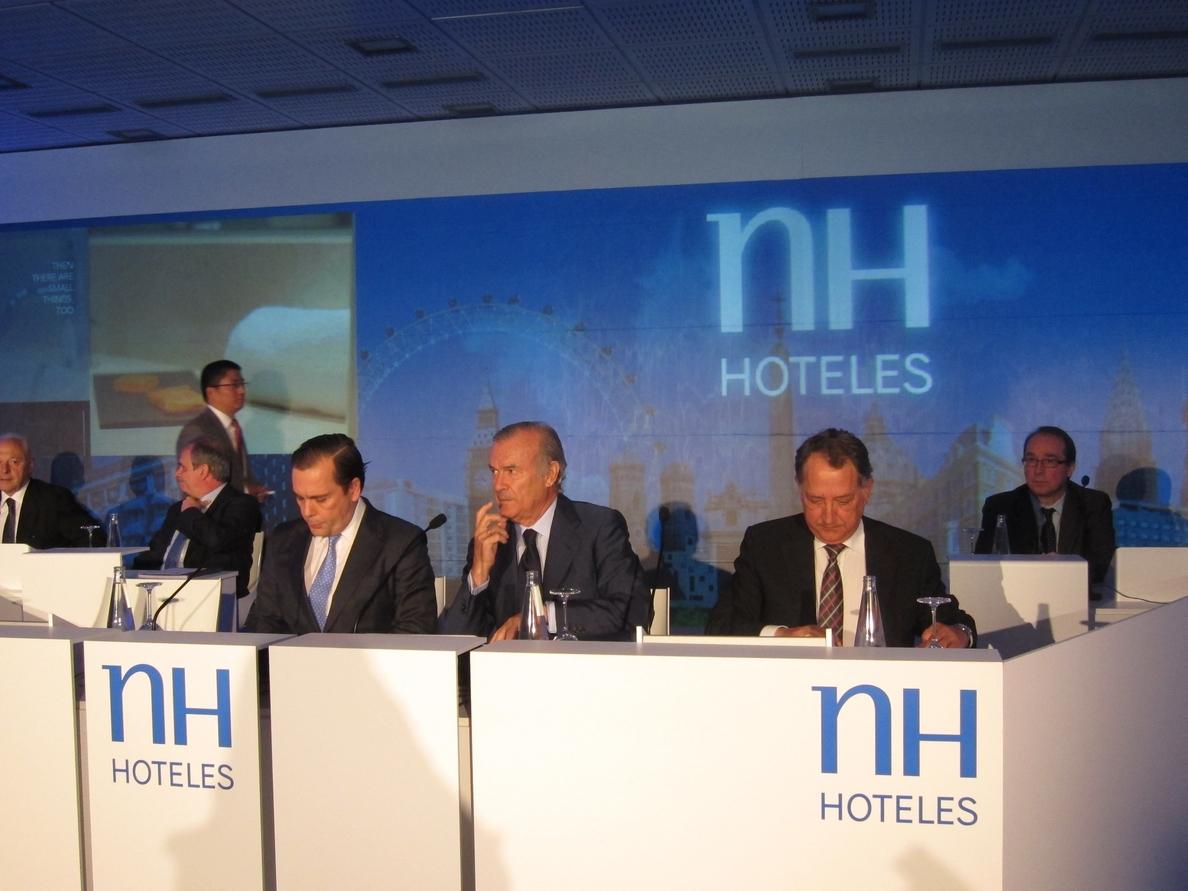 NH regresa a la cotización con una subida del 18% tras la oferta de Barceló de fusionar sus negocios