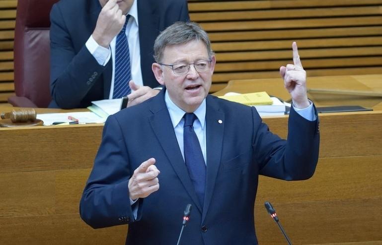 Puig cree que el 18N fue un «éxito de concordia» que ayudará en la negociación de la financiación valenciana