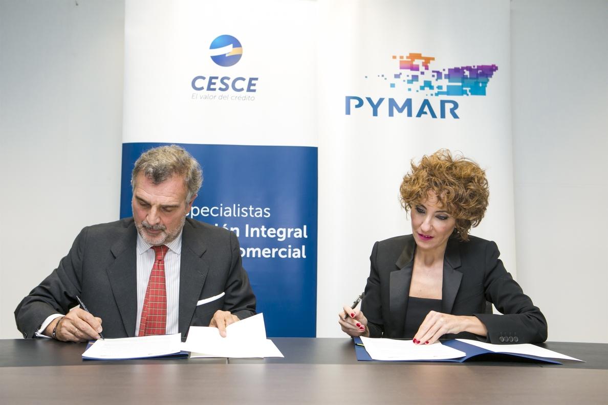 Pymar y Cesce firman un acuerdo para impulsar la exportación del sector de la construcción naval privada