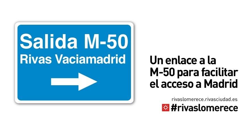 El alcalde de Rivas (Madrid) y su equipo se encerrarán en el Ayuntamiento para exigir a Fomento el enlace con la M-50