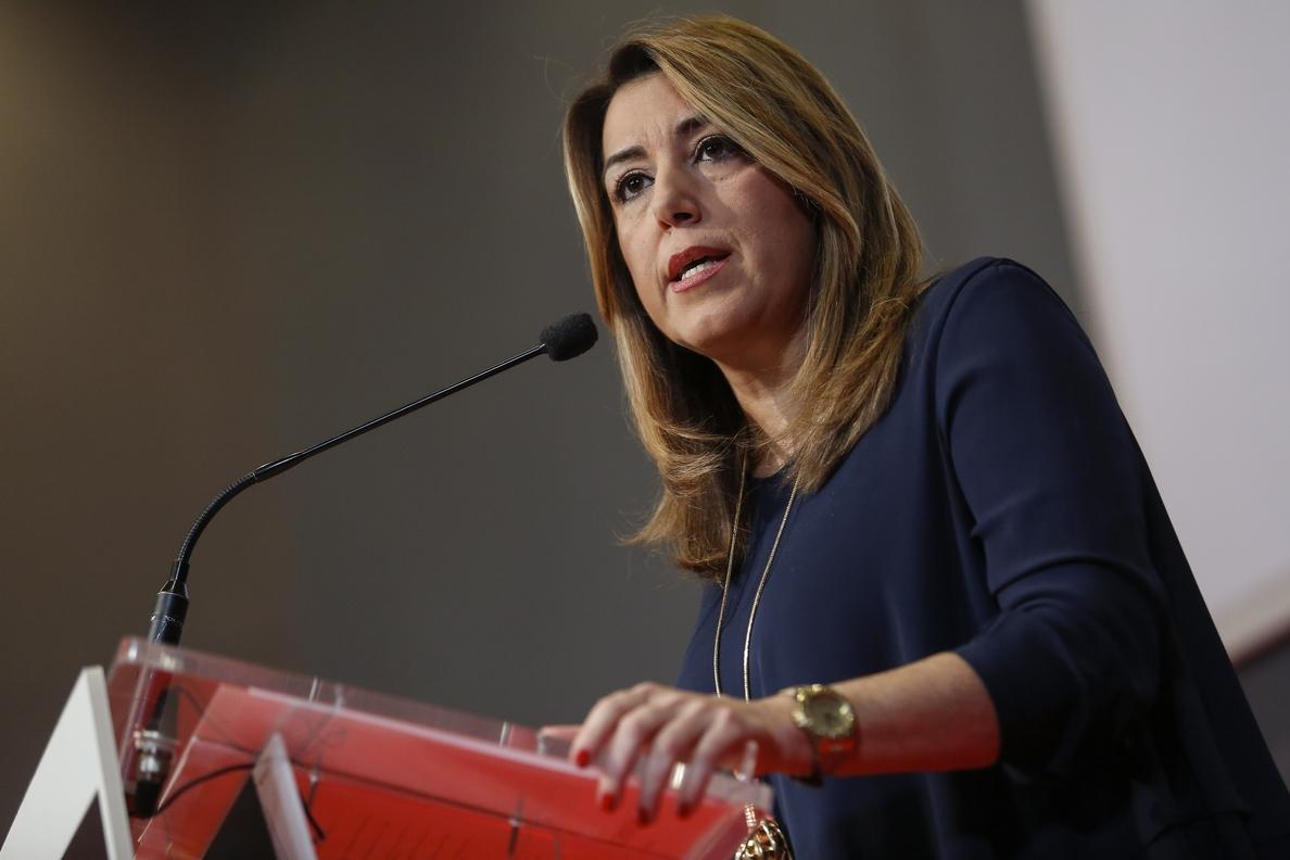 Susana Díaz asegura que no permitirá que «quien se salte las normas» obtenga «rédito» en el debate territorial