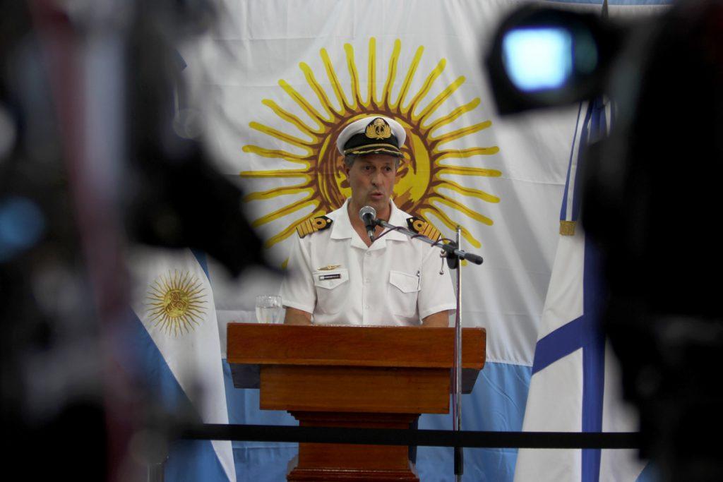 La Armada argentina investiga «nuevos contactos» en búsqueda de submarino