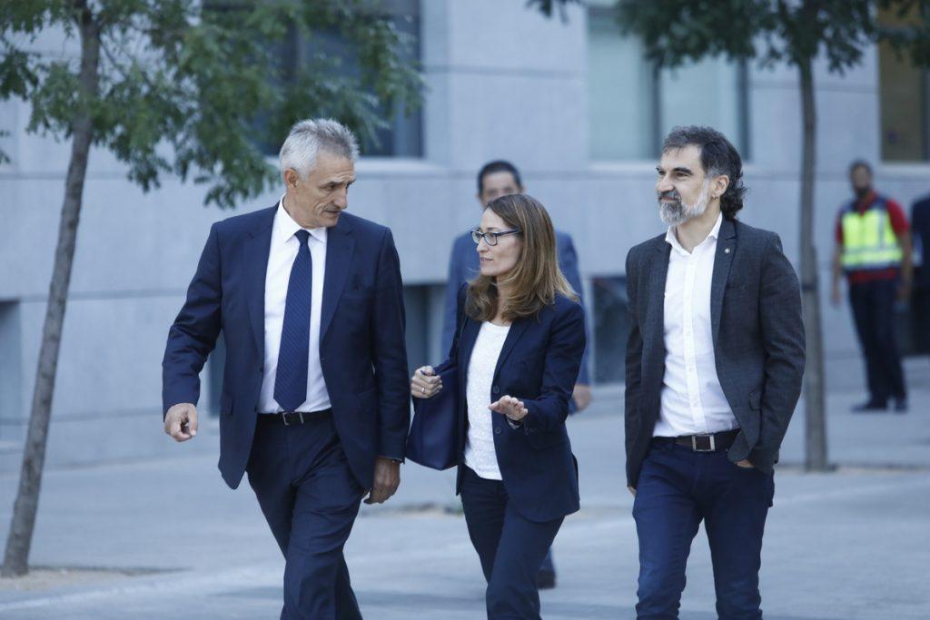 Cuixart llama a pedir la liberación de los presos soberanistas a las instituciones europeas