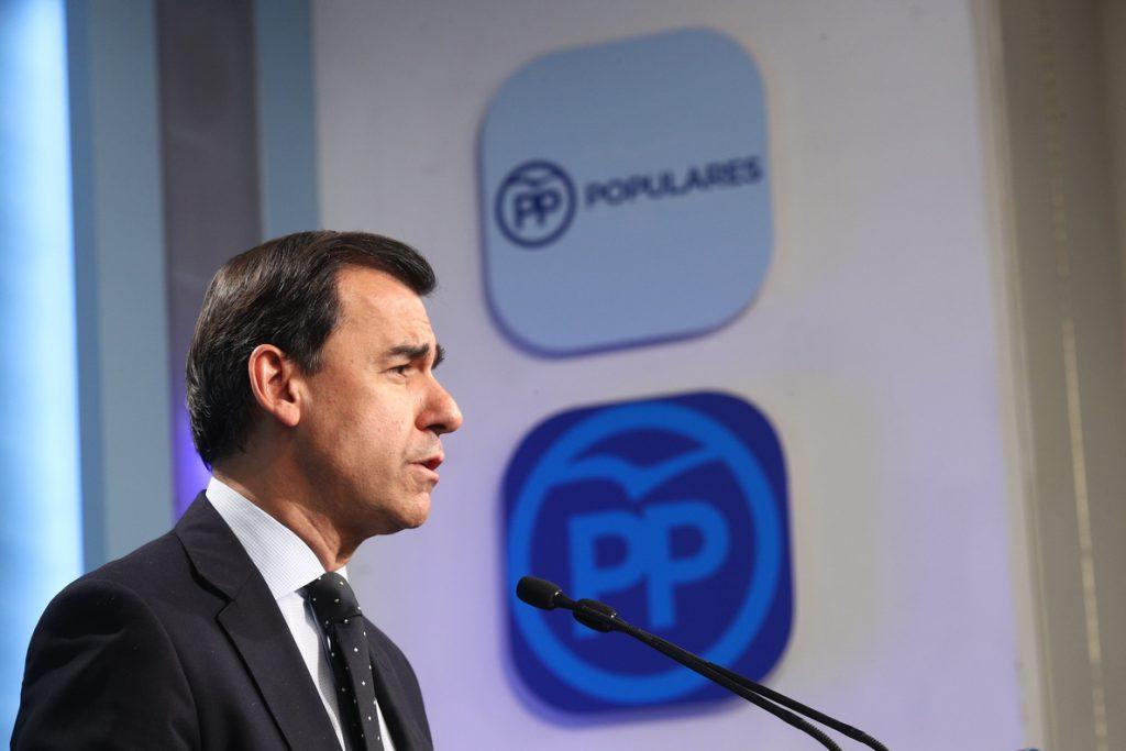 Maillo (PP) anima a Cs a buscar un acuerdo con los 'comunes' ante la ausencia de diputados independentistas