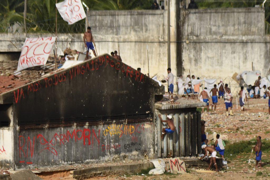 Al menos nueve muertos deja una rebelión en una cárcel de Brasil