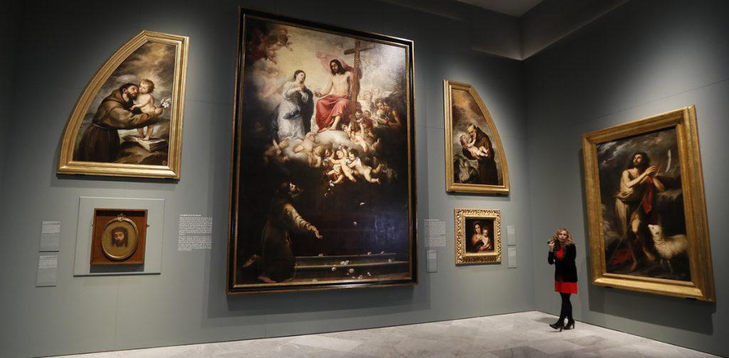 La partida de bautismo, tal día como hoy de 1618, primera huella de Murillo