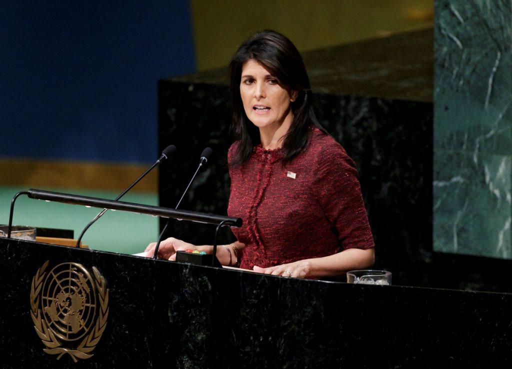 EE.UU. quiere una reunión en el Consejo de Seguridad de la ONU por las protestas en Irán