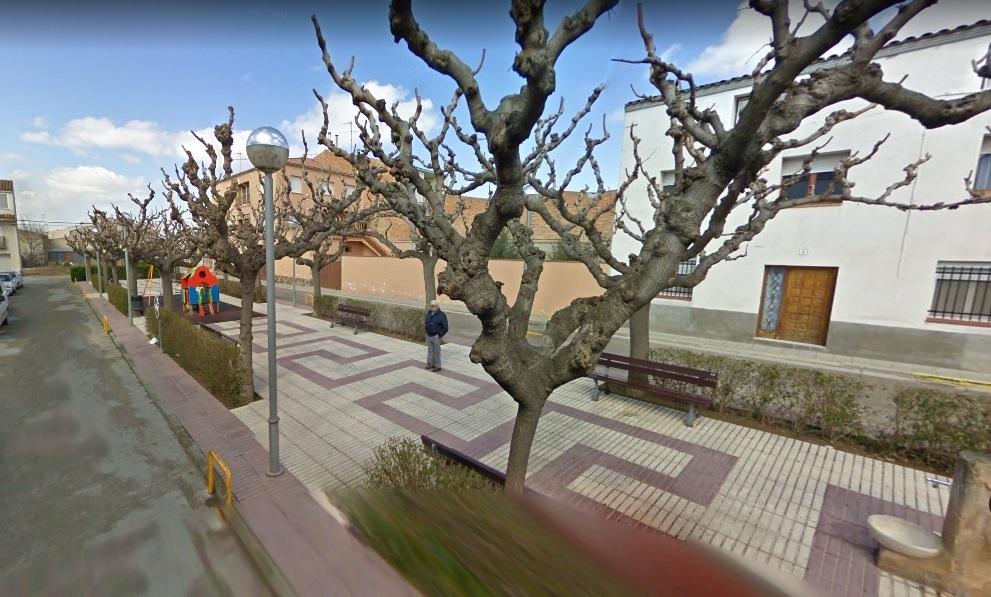 Un pueblo de Lleida aprueba cambiar el nombre de la plaza España por plaza 1 d'Octubre de 2017