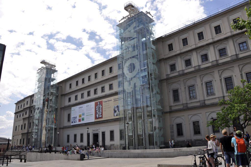 El Museo Reina Sofía recibió 3.880.812 visitas en 2017, un 3,6 % más que 2016