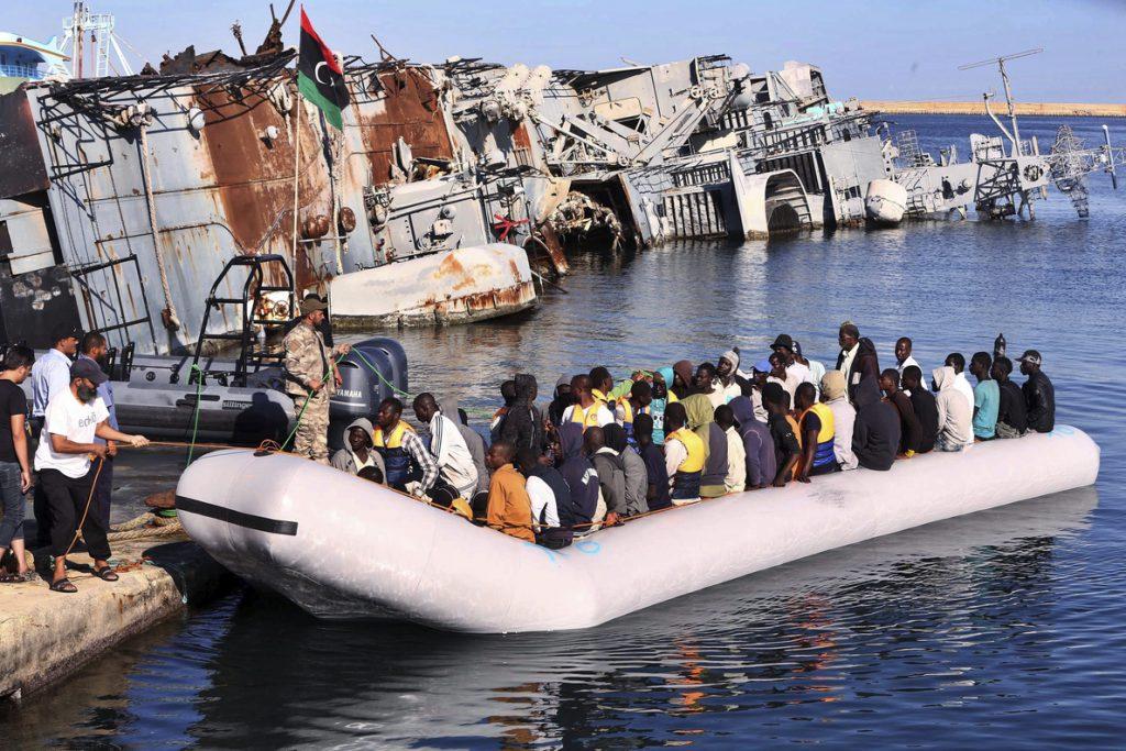 """Libia, Turquía o los Balcanes, el """"foso europeo"""" para los migrantes"""