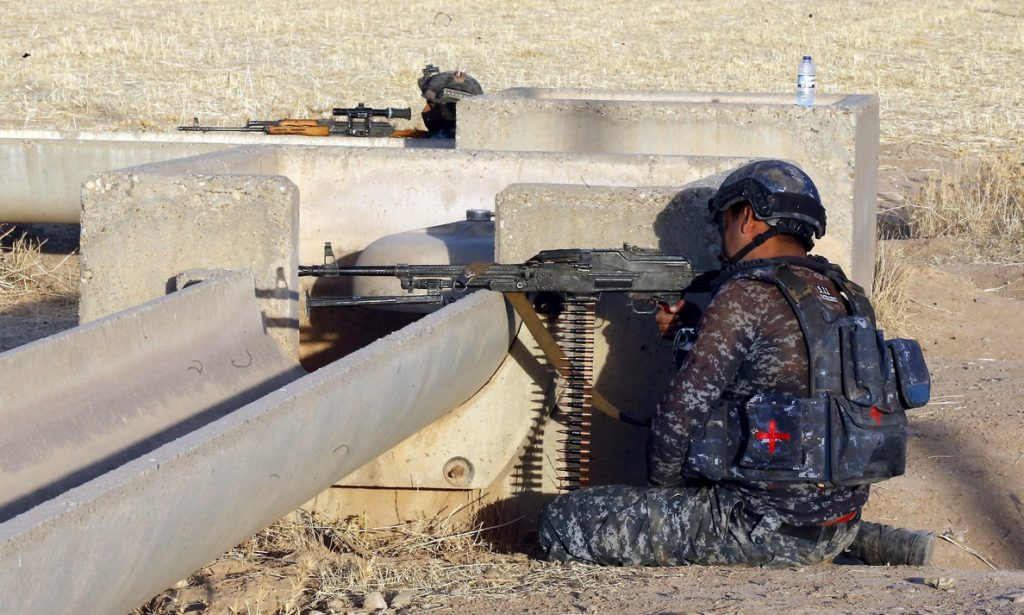 La policía mata a quince terroristas en la zona fronteriza entre Irak y Siria