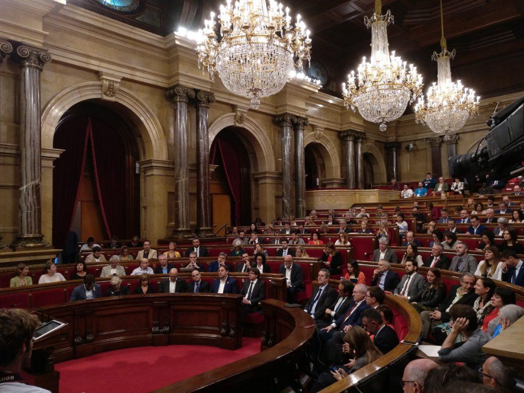 Cs necesitaría las ausencias de cinco diputados independentistas para presidir el Parlament