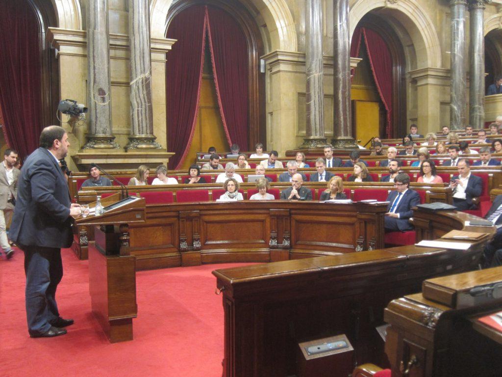 La defensa de Junqueras apelará mañana en el Supremo a su derecho a participar en política tras ser elegido diputado
