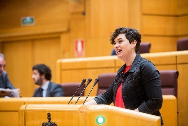 En Comú quiere que el Senado apoye la liberación de la menor palestina encarcelada por abofetear a un soldado israelí
