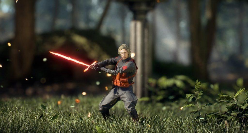 Crean un 'mod' de Kylo Ren para Star Wars: Battlefront 2 inspirado en un 'sketch' de Saturday Night Live